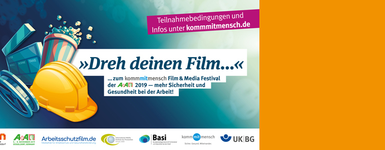 Film & Media Festival bei der A+A 2019